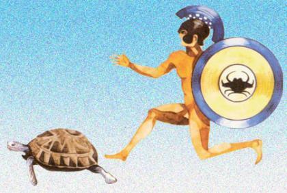 Aquiles y la tortuga