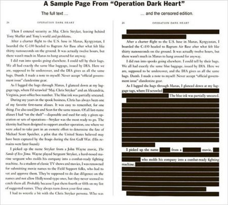 La quema de libros en el Pentágono y una copia original que protege WikiLeaks