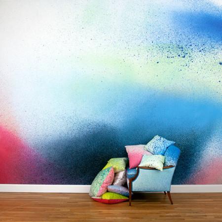 The Heavens, colección de papel pintado que simula los mejores efectos de pintura en spray