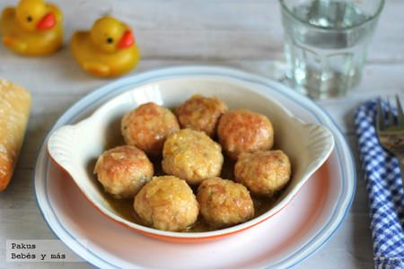 Recetas de verano para los peques: albóndigas caseras de pollo
