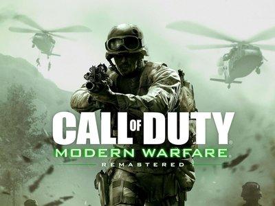 ¿Tienes CoD: Modern Warfare Remastered desde antes de que se vendiera por separado? No te deshagas del disco de Infinite Warfare