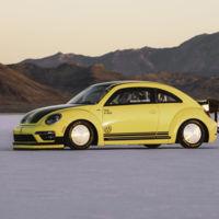 El Volkswagen Beetle más rápido del mundo tiene 550 CV y va a 328 km/h