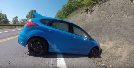 Dolorpasión™: Un Ford Focus RS y el mal uso de su Drift Mode en video