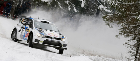 Rally de Suecia 2013: Sólo Sébastien Loeb resiste el ritmo de los Volkswagen