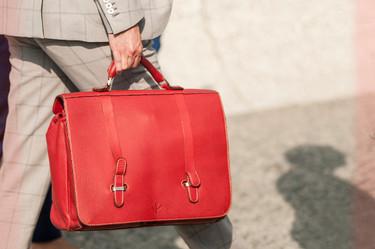 Vuelta a la oficina: maletines y portadocumentos con estilo