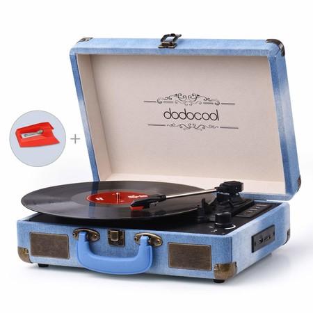 Dodocool Tocadiscos Bluetooth