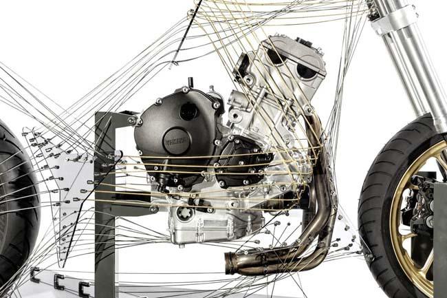 Concepto motor Yamaha 3 cilindros