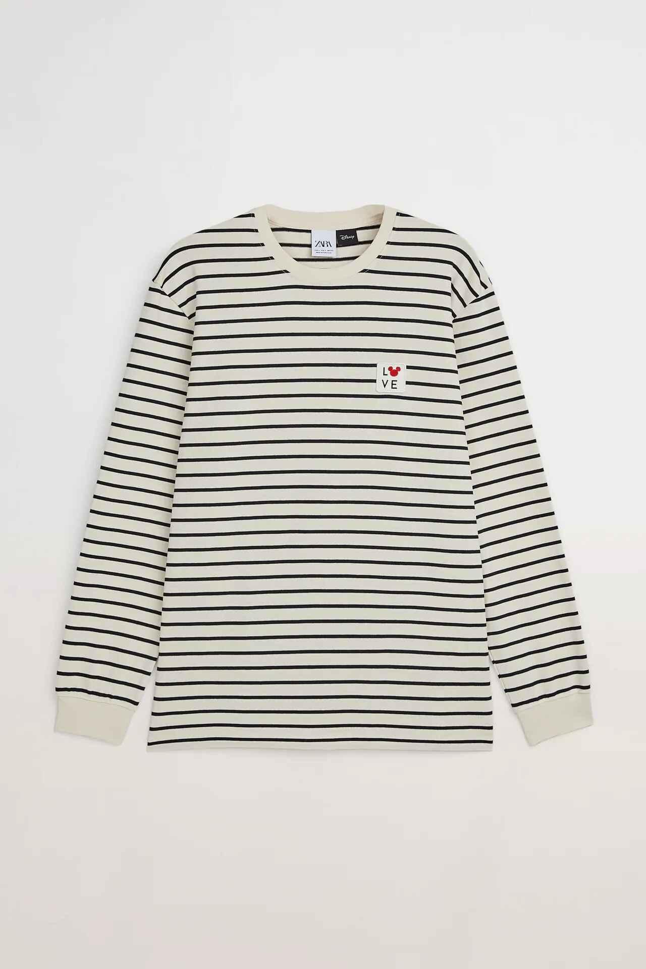 Camiseta marinera en manga larga