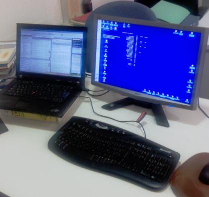 Aumenta la productividad con dos monitores