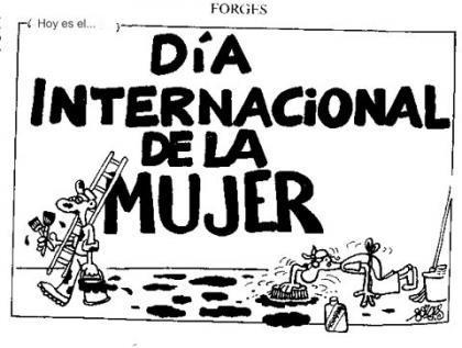 Hoy es el día internacional de la mujer