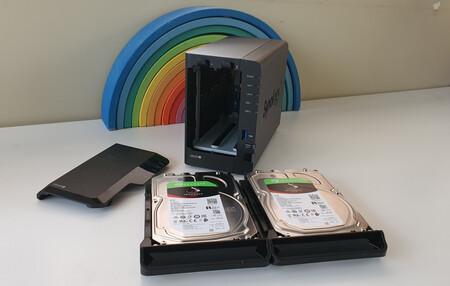 Synology NAS y discos duros