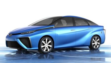 Toyota FCV (prototipo de coche eléctrico de hidrógeno)