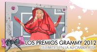 Los Grammys 2012: Una alfombra roja de lo más variada