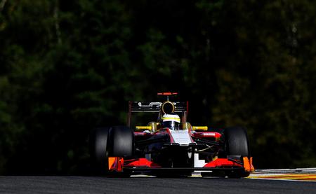 Día difícil para HRT en Spa Francorchamps