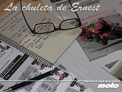 MotoGP Américas 2013: la chuleta de Ernest