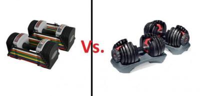 A examen las mancuernas ajustables para entrenar en casa: PowerBlock y Bowflex