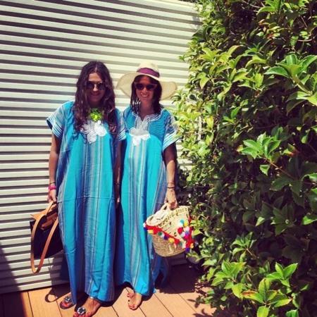 Natasha Goldenberg le coge el gusto a lo de vestirse como sus amigas