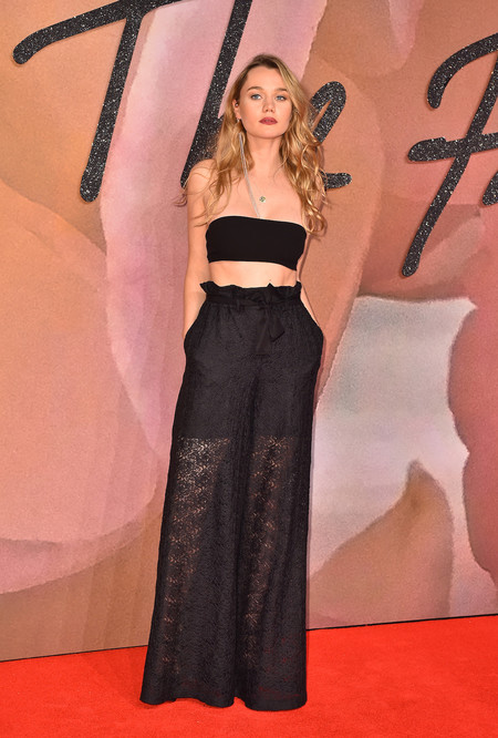 British Fashion Awards 2016 Immy Waterhouse