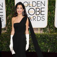 Amal Clooney en los Globos de Oro