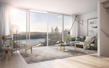 Una casa sueca con unas vistas impresionantes