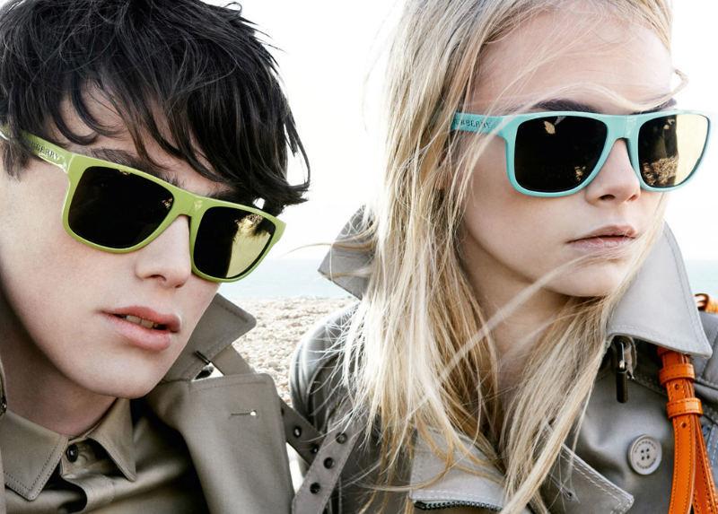 Foto de Gafas de sol de Burberry Prorsum para esta Primavera-Verano 2011 (4/5)
