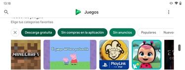 Cómo investigar games gratuitas y sin publicidad para Android™ en Google™ Play Juegos