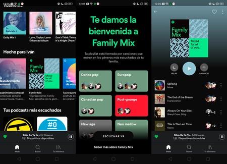 Spotify te descubre qué escucha tu familia