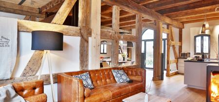 Un antiguo granero, reconvertido en un precioso edificio de apartamentos turísticos