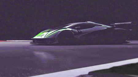 ¡Locura! Así suenan los 830 CV del V12 del bestial Lamborghini diseñado sólo para circuito