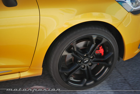 Renault Clio RS 200 EDC launch control