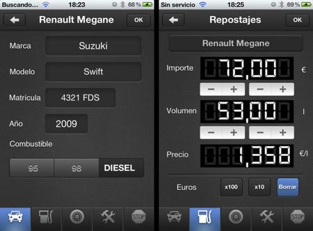 Car Controller: otra aplicación para controlar el gasto de nuestros vehículos