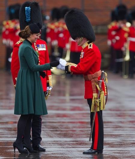 Kate Middleton: verde que te quiero verde y más si es por San Patricio