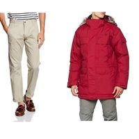 Chollos en tallas sueltas de pantalones, camisetas y abrigos de marcas como The North Face, Dockers o Jack & Jones en Amazon