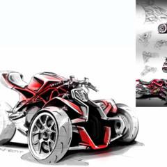 Foto 2 de 7 de la galería ducati-desmosedici-rr-trike-concept en Motorpasion Moto