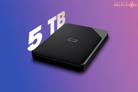 Todos tus archivos de vacaciones contigo en el disco duro externo portátil WD Elements SE de 5 TB a 87,20 euros en MediaMarkt