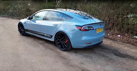 Tesla Model 3 Milltek Escape Sonido