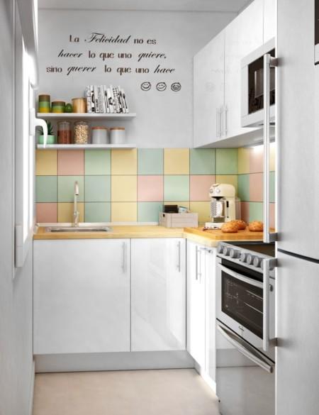 C mo sacarle todo el partido a una cocina alargada for Ideas para reformar cocina alargada