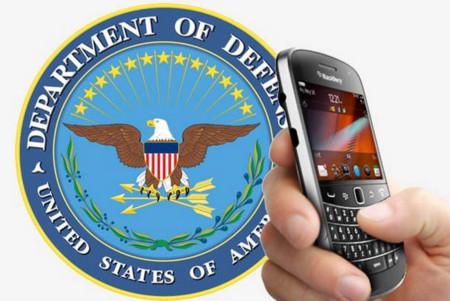 El pentágono prepara su plan B ante la situación de BlackBerry