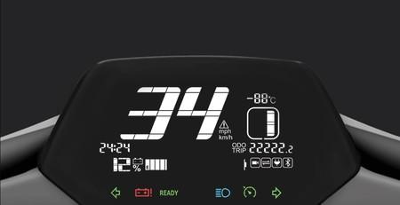 Supersoco Xiaomi Ciclomotor Electrico Panel