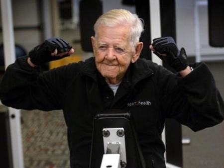 En forma a los ... ¿102 años?