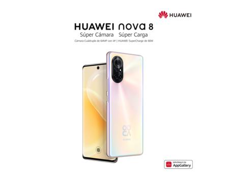 Huawei nova 8 llega a México: el primero con EMUI 12, pantalla OLED y carga rápida de 66W, lanzamiento y precio oficial