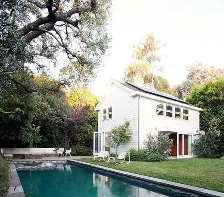 Oficina y vivienda en California, un dos en uno muy ecológico y acogedor