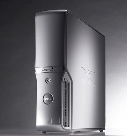 Dell XPS 210, ante todo diseño compacto