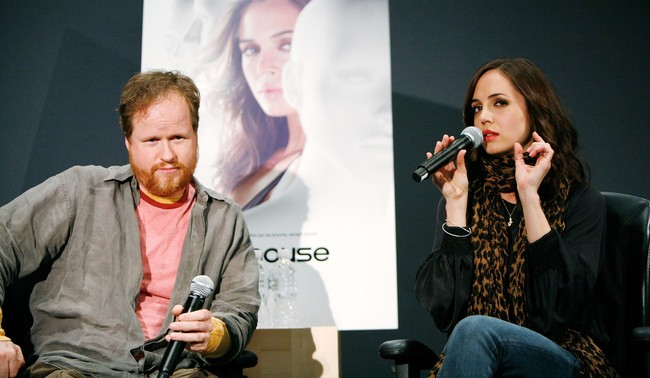 Joss Whedon and Eliza Dushku talking about Dollhouse