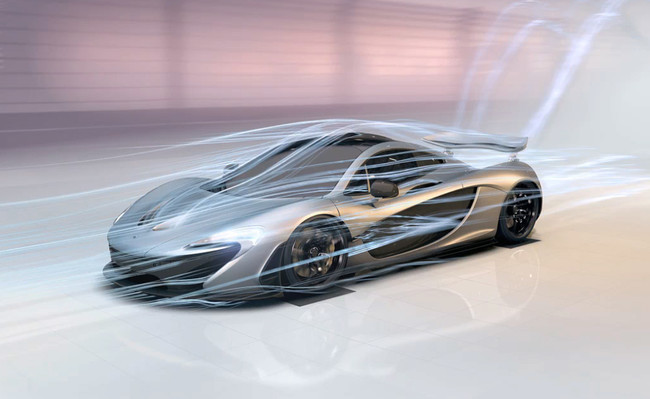 Aerodinámica del McLaren P1