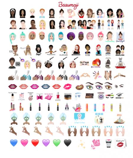 Beaumoji Loreal Emoji