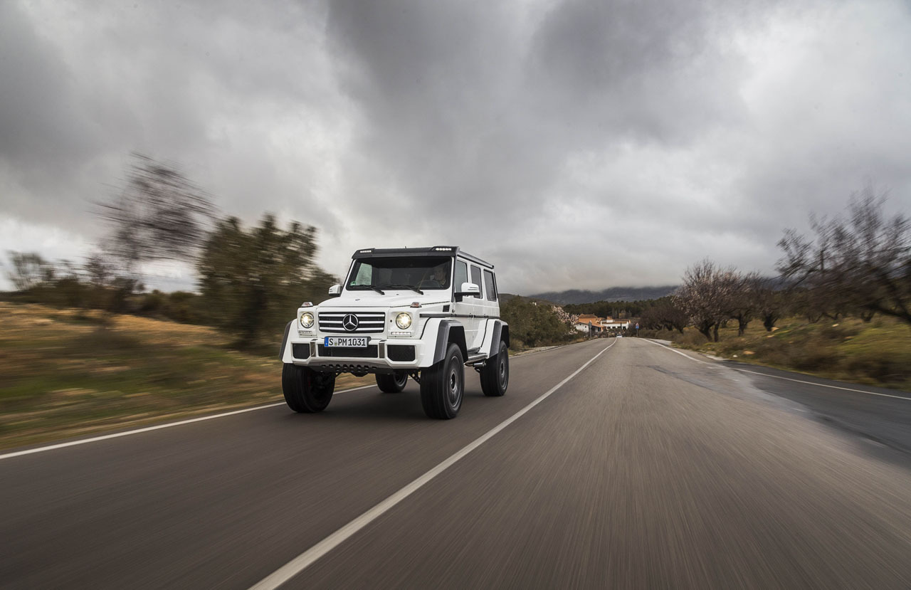 Foto de Mercedes-Benz G 500 4x4², toma de contacto (73/127)