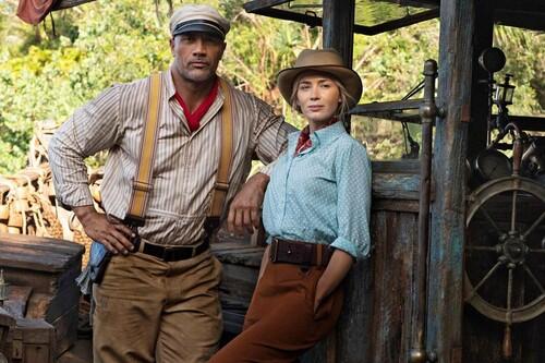 """""""En 'Jungle Cruise', Emily Blunt es la versión femenina de Indiana Jones"""". Dwayne Johnson"""