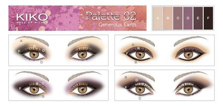 Palette 02 Generous Earth kiko
