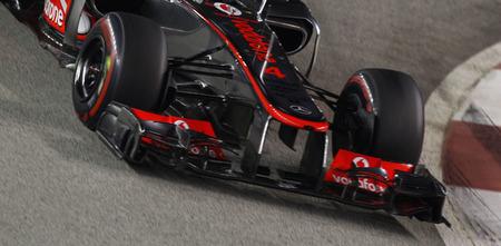 McLaren no sabe nada de flexibilidad en sus alerones